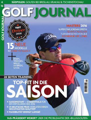 GOLF JOURNAL 04/16