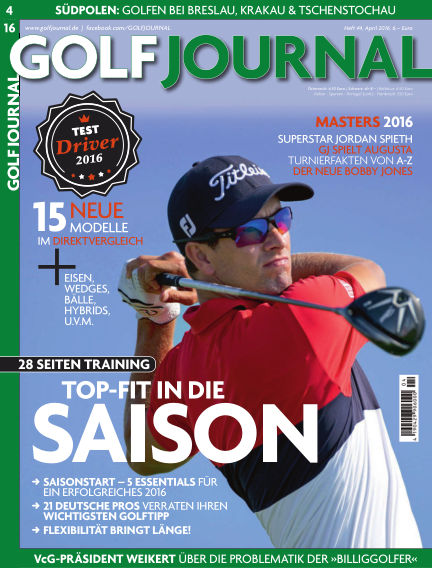 GOLF JOURNAL March 24, 2016 00:00