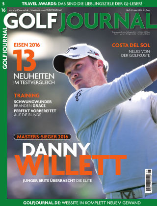 GOLF JOURNAL 05/2016