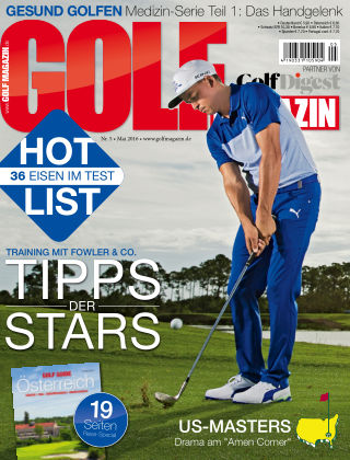 Golf Magazin NR. 05 2016