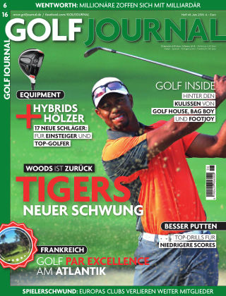 GOLF JOURNAL 06/2016