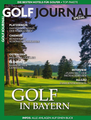 Golf Magazin Golf in Bayern 2016