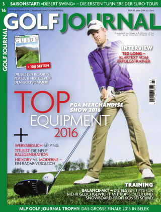 GOLF JOURNAL 03/2016
