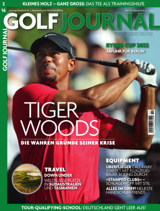 GOLF JOURNAL 02/2016