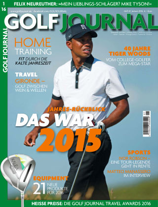 Golf Magazin 01/2016