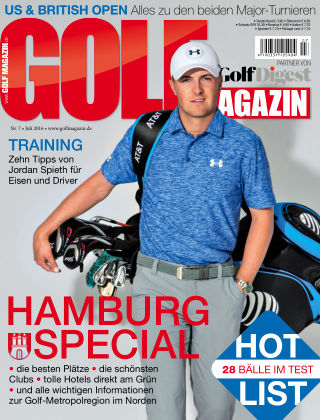 Golf Magazin NR. 07 2016