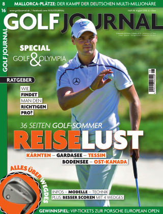 GOLF JOURNAL 08/2016