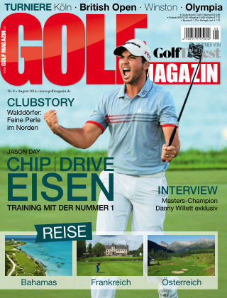 Golf Magazin NR. 08 2016