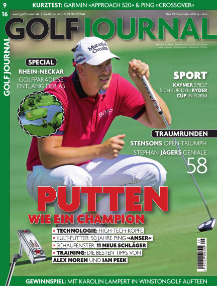 Golf Magazin August 19, 2016 00:00