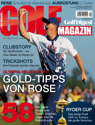 Golf Magazin NR. 09 2016