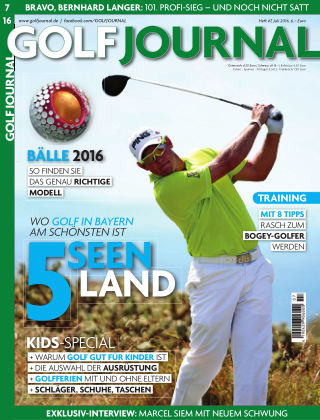 GOLF JOURNAL 07/2016
