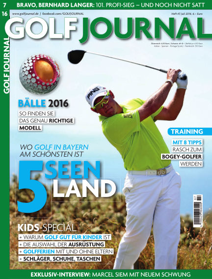 GOLF JOURNAL June 24, 2016 00:00