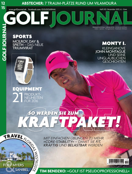 GOLF JOURNAL November 19, 2015 00:00
