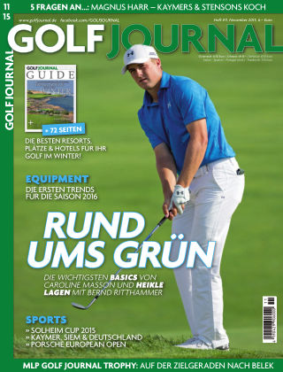 GOLF JOURNAL 11/2015