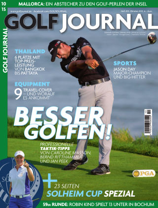 GOLF JOURNAL 10/2015