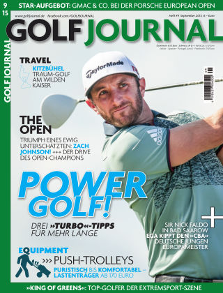 GOLF JOURNAL 09/2015
