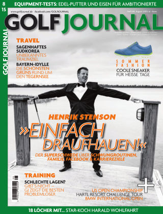 Golf Magazin 08/2015