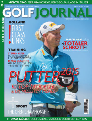 GOLF JOURNAL 07/2015