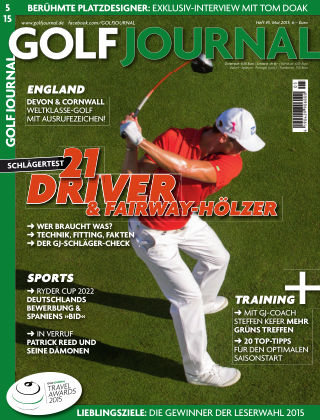 GOLF JOURNAL 05/2015