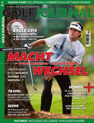 Golf Magazin 04/2015