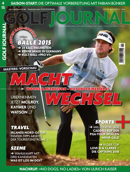 GOLF JOURNAL March 18, 2015 00:00