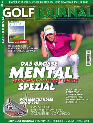 GOLF JOURNAL 03/2015