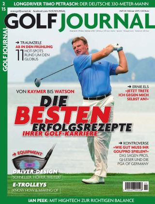 GOLF JOURNAL 02/2015