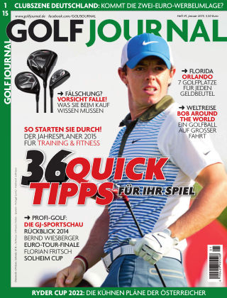 GOLF JOURNAL 01/2015