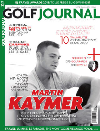 Golf Magazin 12/2014