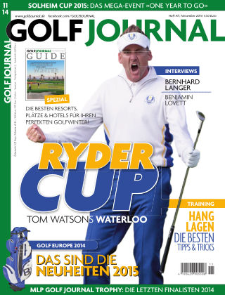 GOLF JOURNAL 11/2014
