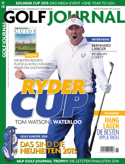 GOLF JOURNAL October 16, 2014 00:00