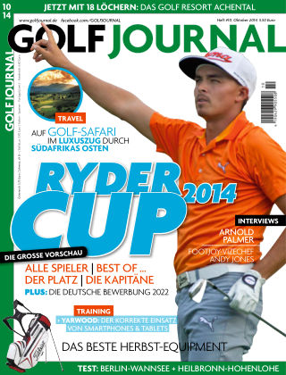 GOLF JOURNAL 10/2014