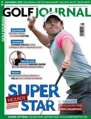 GOLF JOURNAL 09/2014
