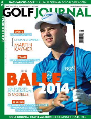 GOLF JOURNAL 08/2014