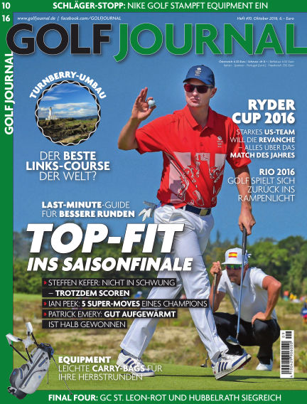 GOLF JOURNAL September 16, 2016 00:00