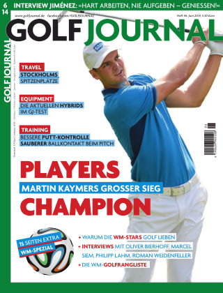 GOLF JOURNAL 06/2014