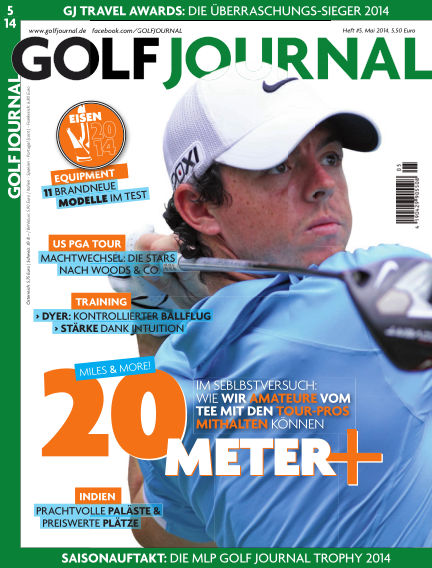 Golf Magazin April 17, 2014 00:00
