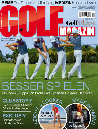 Golf Magazin Nr. 10 2016