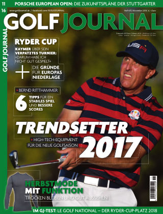 GOLF JOURNAL 11/2016