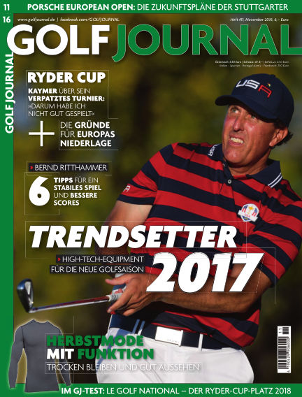 Golf Magazin October 14, 2016 00:00