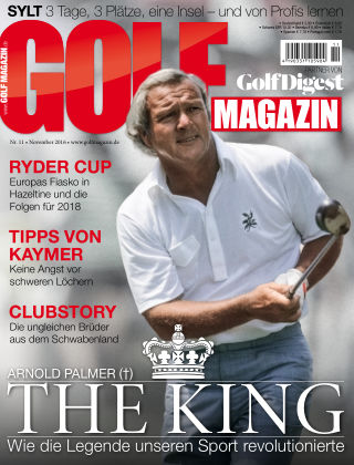 Golf Magazin NR. 11 2016