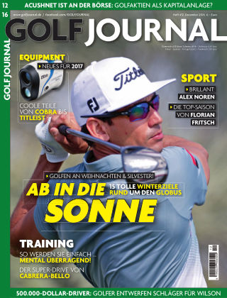 GOLF JOURNAL 12/2016
