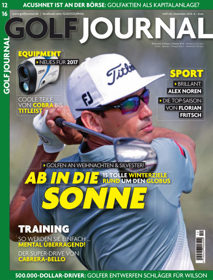 GOLF JOURNAL November 18, 2016 00:00