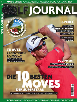 GOLF JOURNAL 01/2017