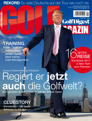 Golf Magazin NR. 01 2017