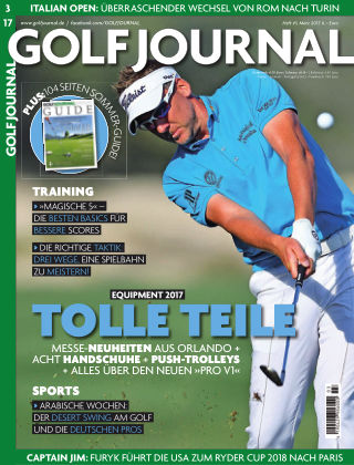 Golf Magazin 03/2017