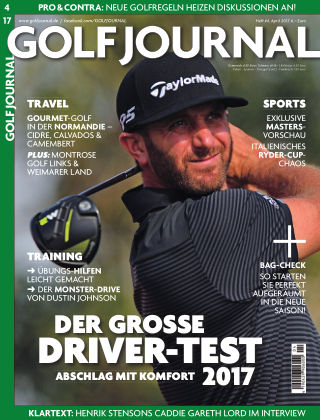 GOLF JOURNAL 04/2017
