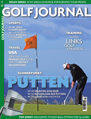 GOLF JOURNAL 07/2017