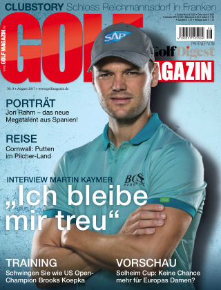 Golf Magazin NR. 08 2017