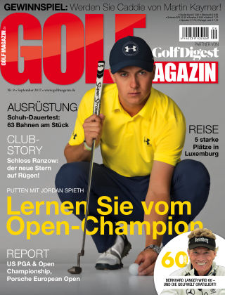 Golf Magazin NR. 09 2017